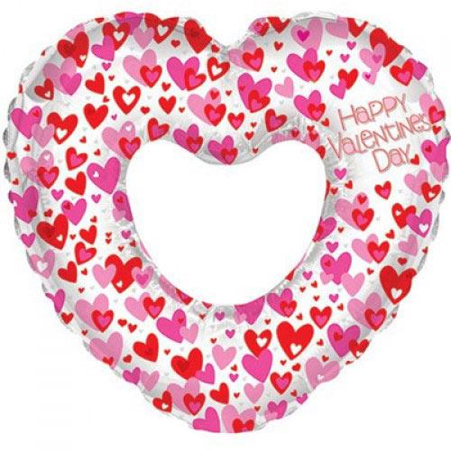 Шар (32''/81 см) Фигура, Сердце любовное