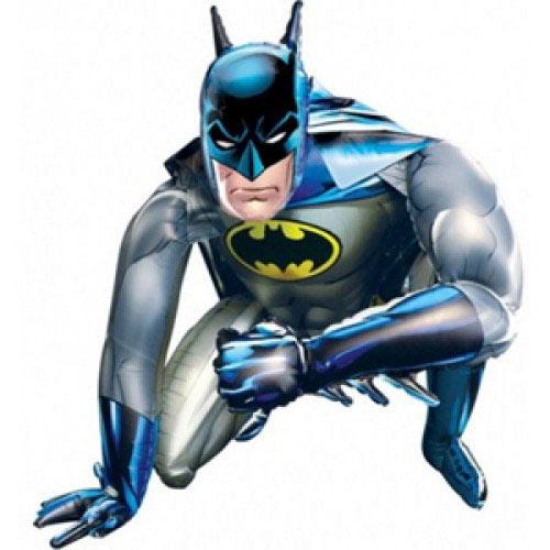 Шар Ходячая Фигура (37''/94 см) , Бэтмен, 1 шт.