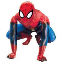 Шар Ходячая Фигура (37''/94 см) , Человек-паук, 1 шт.