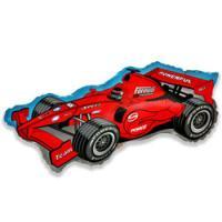 Шар (36''/91 см) Фигура, Формула 1, Красный, 1 шт.