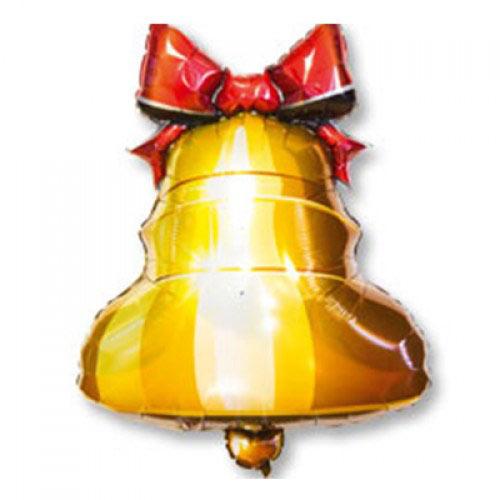 Шар фигура Колокольчик с ленточкой