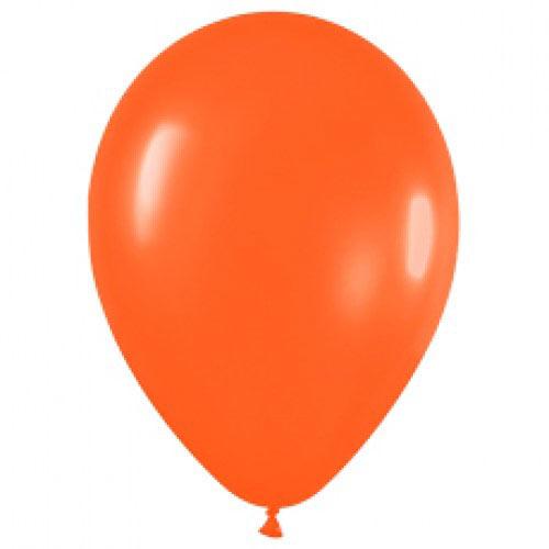 Шар (12''/30 см) Оранжевый (061), пастель, 1 шт.