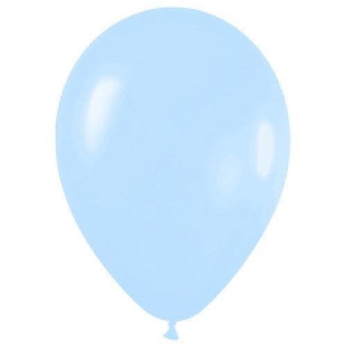 Шар (12''/30 см) Светло-голубой (140), пастель, 1 шт.
