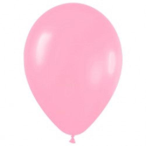 Шар (12''/30 см) Розовый (009), пастель, 1 шт.