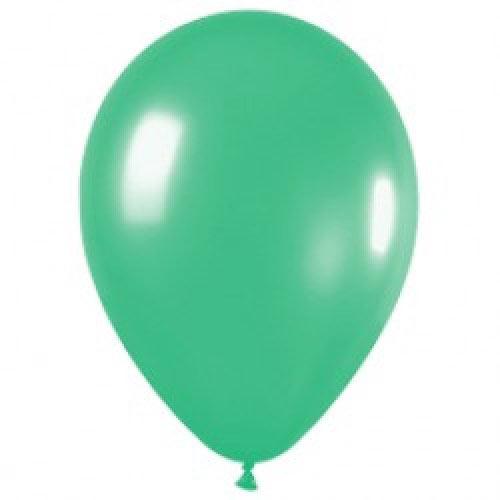 Шар (12''/30 см) Весенне-зеленый (028), пастель, 1 шт.