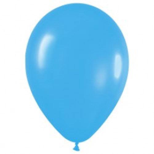 Шар (12''/30 см) Голубой (040), пастель, 1 шт.
