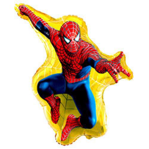 Шар (32''/81 см) Фигура, Человек-паук, 1 шт.