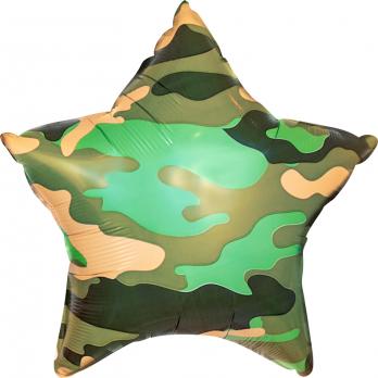 Шар (18''/46 см) Звезда, Камуфляж, Военный