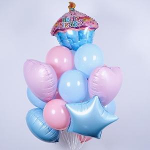 Букет нежный цвет на день рождения