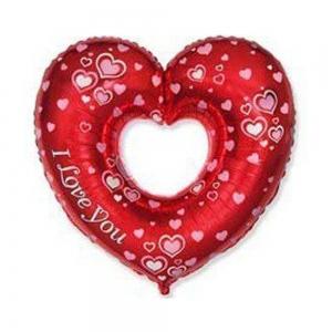 Шар фигура ILY Сердца