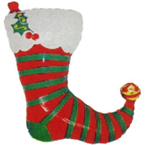 Шар (32''/81 см) Фигура, Новогодний носок