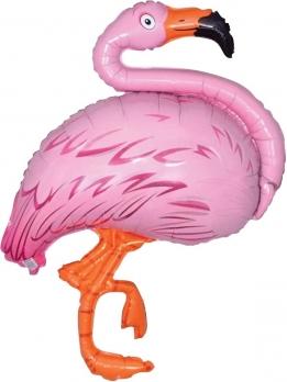 Шар (51''/130 см) Фигура, Фламинго, Розовый