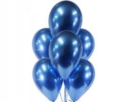 Хромированные шары синие Blue Бельгия заказать