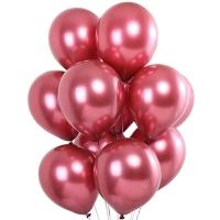 Хромированные шары Лиловый розовый  Pink Бельгия заказать